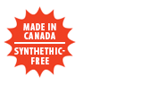 Made in Canada, Synthetic-Free